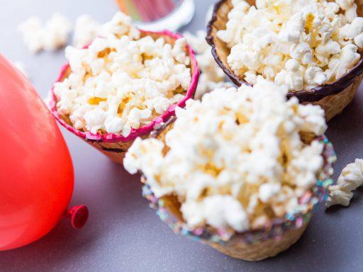 Popcornskålar